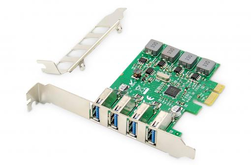 4-Port USB 3.0 PCI Express Add-On Card