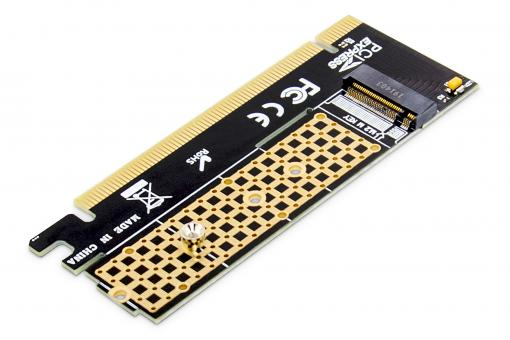 Carte add-on M.2 NVMe SSD PCI Express 3.0 (x16)