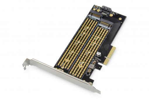 Karta M.2 NGFF / NMVe SSD PCI Express 3.0 (x4) Add-On