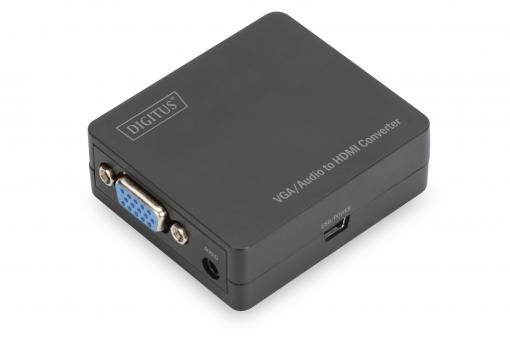 VGA to HDMI Converter incl. Audio Transmission
