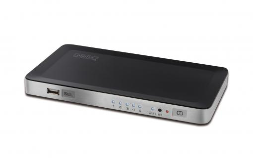 HDMI Video Switch with integrated PC connection