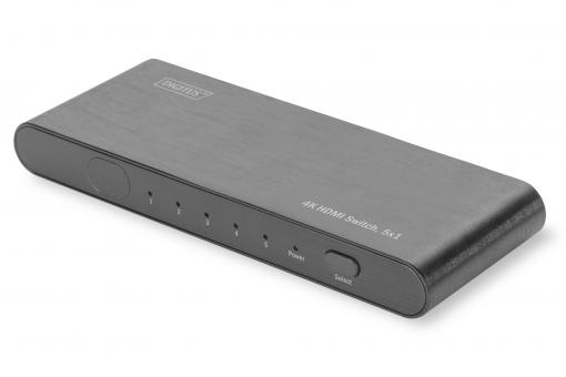 4K HDMI Switch, 5x1