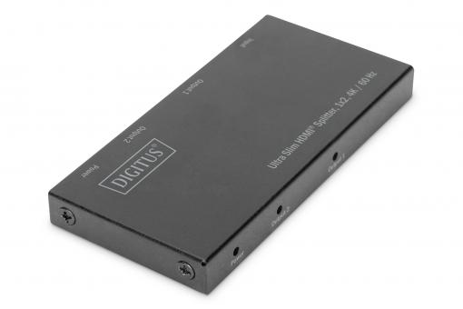Ultra Slim HDMI Splitter, 1x2, 4K / 60 Hz