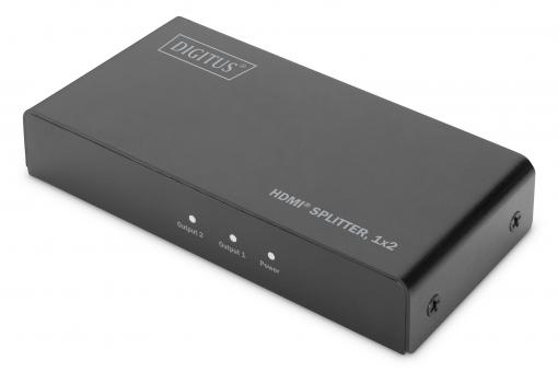 HDMI® Splitter, 1x2, 4K / 60 Hz mit Downscaler