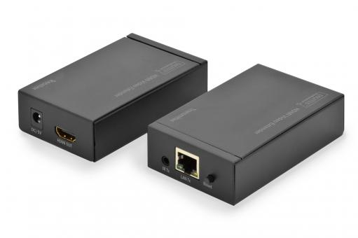 HDMI Video Extender über CAT 5 / IP mit IR Funktion