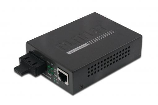 Gigabit Medienkonverter, RJ45/SC