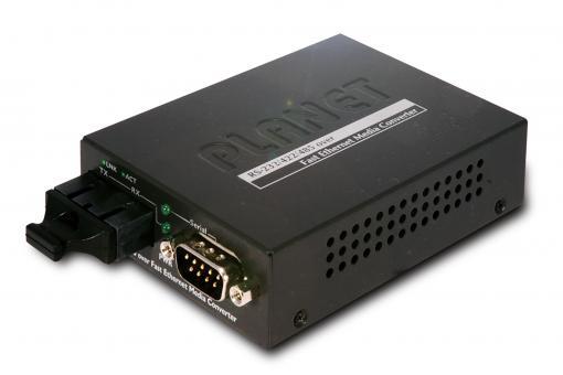 RS-232/422/485 over Fast Ethernet Media Converter (SFP)
