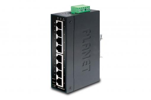 Industrial 8 Port Gigabit Switch, Unmanaged