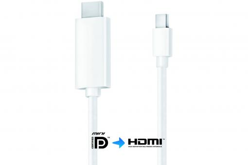 IS1200 - Mini DisplayPort / HDMI Cable