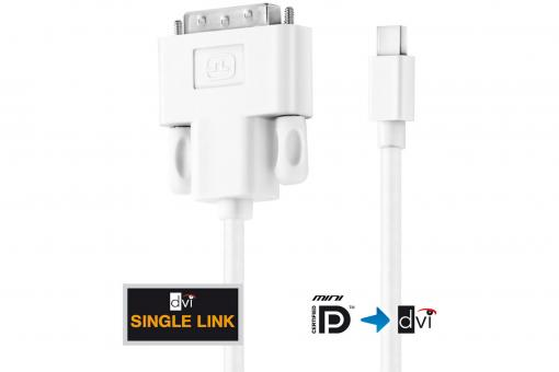IS1300 - Mini DisplayPort / DVI Cable