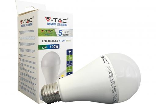 LED Bulb - 12W E27 Warm White 200°