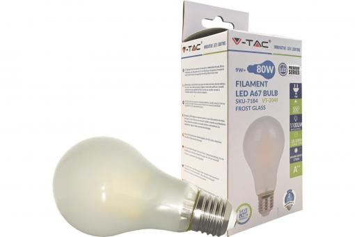 LED Bulb - 9W E27 Warm White 300°