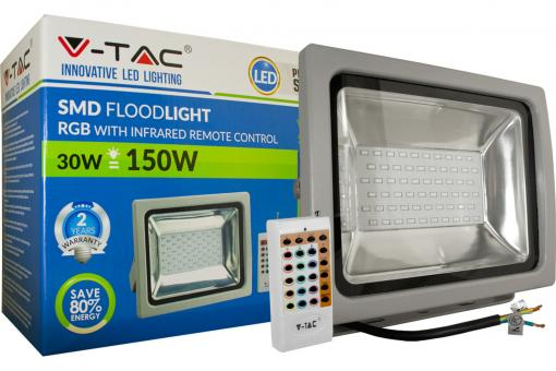 30W LED RGB Floodlight Classic IP65