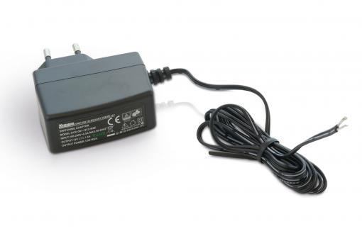 Luxi Electronics® - Power Supply. 12V / 1A. Tinned Ends, Length: 1,40m., Optimal for Luxi Electronics® Presenter™ products.