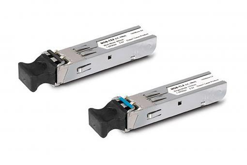 SFP-Port 1000BASE-BX (WDM, TX:1310nm, BiDi LC, Singlemode) mini-GBIC module-40km