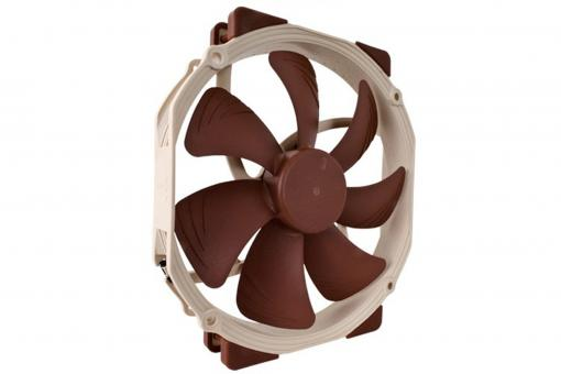 The NF-A15 is a premium quality quiet 140mm fan with a round frame that complies with Noctua's AAO (Advanced Acoustic Optimisation) standard. The NF-A15's frame features 120mm mounting holes (105mm spacing) and has been enlarged to 150mm width in order to