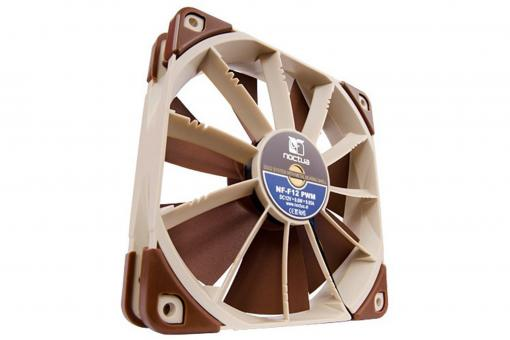 Teaming up eleven stator guide vanes with a specially conceived seven blade impeller, the NF-F12's Focused Flow™ system creates outstanding static pressure and focuses the airflow for superior performance on heatsinks and radiators. At the same time, a wi