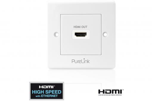 Purelink PI100 HDMI wall socket 1 port