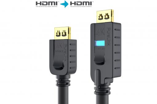 HDMI Cable, active, 18Gbps, 15m