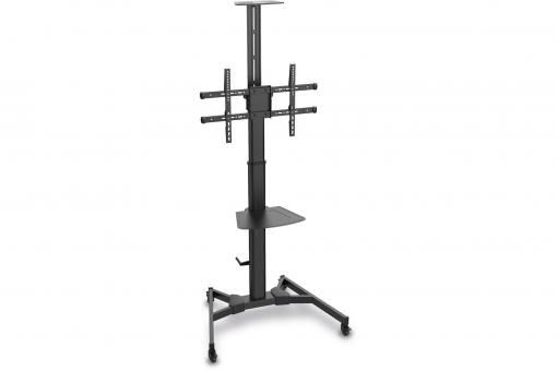 "Puremount TV-Cart for screens up to 70"", with shelf for DVD and Camera up to 50 kg wheelbase, VESA max. 600x400"