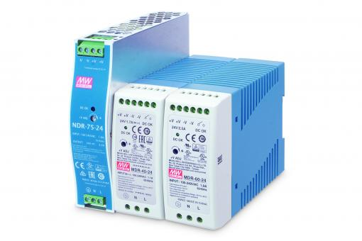 Industrial DIN-Rail Power Supply (DR-75-24)