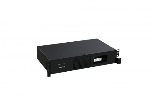 Zasilacz awaryjny UPS Line-Interactive RACK 19'' LCD, 1100VA/770W, 1x12V/7.2Ah, AVR, 4xC13, USB