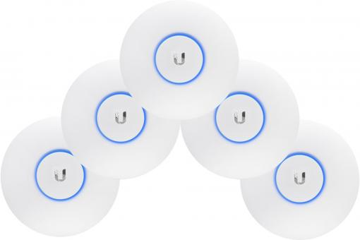 Ubiquiti UAP-AC-PRO - 802.11ac Dual-Radio Access Point - 5-Pack