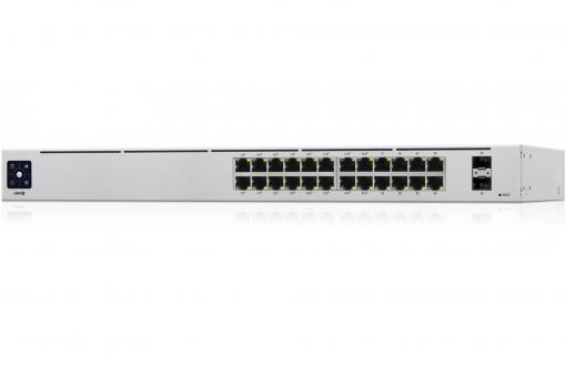 USW-24-POE - 24-Port 802.3at PoE Gigabit Switch with SFP