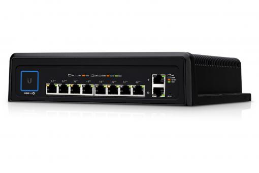 Ubiquiti USW-Industrial - Durable UniFi Switch with Hi-Power 802.3t PoE Support