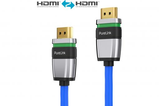 ULS1010 - HDMI Cable with Ultra-Lock-System™, blue