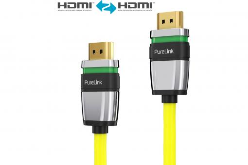 ULS1020 - HDMI Cable with Ultra-Lock-System™, yellow