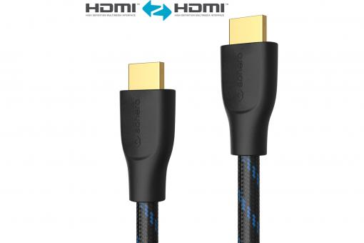 Premium High Speed HDMI Cable with Ethernet - 0,50m