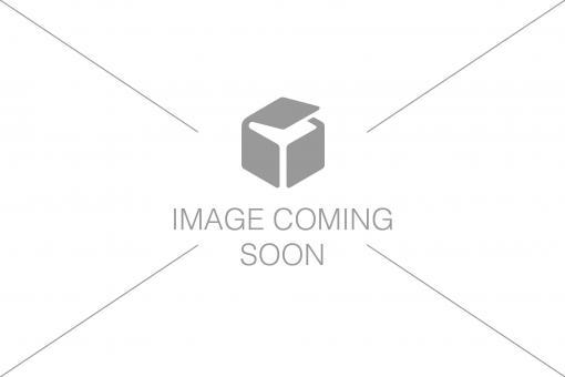 Steckdosenleiste mit Aluminiumprofil und Vorsicherung, 8-fach Schutzkontaktsteckdose, 2 m Zuleitung IEC C14 Stecker